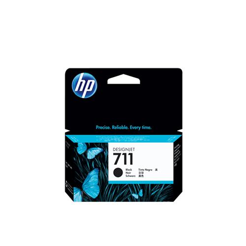 HP 711 Black DesignJet Ink Cartridge