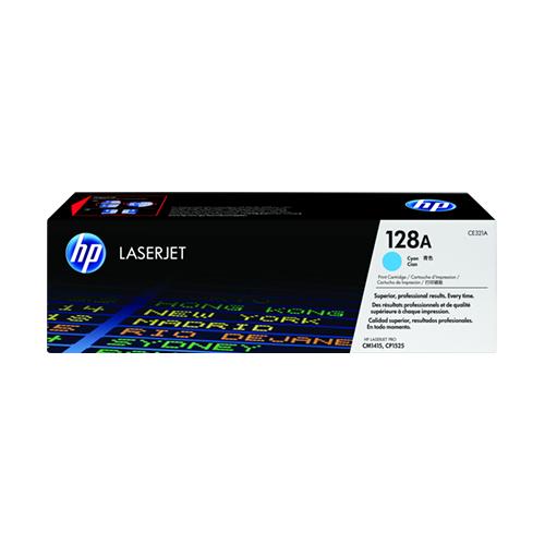 HP LaserJet 128A Cyan Toner Cartridge CE321A