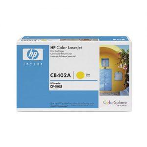 HP LaserJet 642A Original Yellow Toner Cartridge CB402A