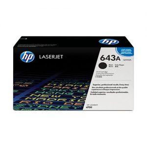 HP LaserJet 643A Black Toner Cartridge Q5950A