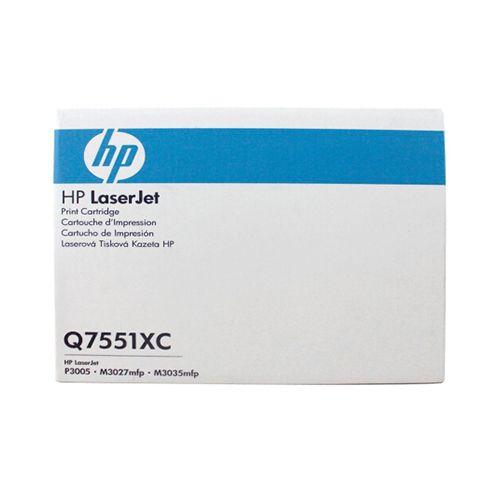HP ORIGINAL LASERJET BLACK PRINT CARTRIDGE Q7551XC