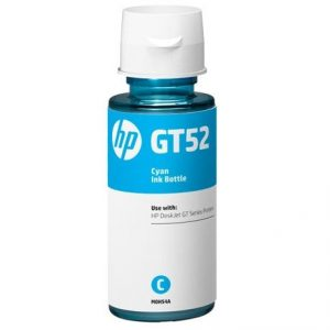 Genuine HP GT52 Cyan Ink Bottle (M0H54AE)