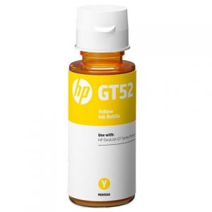 Genuine HP GT52 Yellow Ink Bottle (M0H56AE)