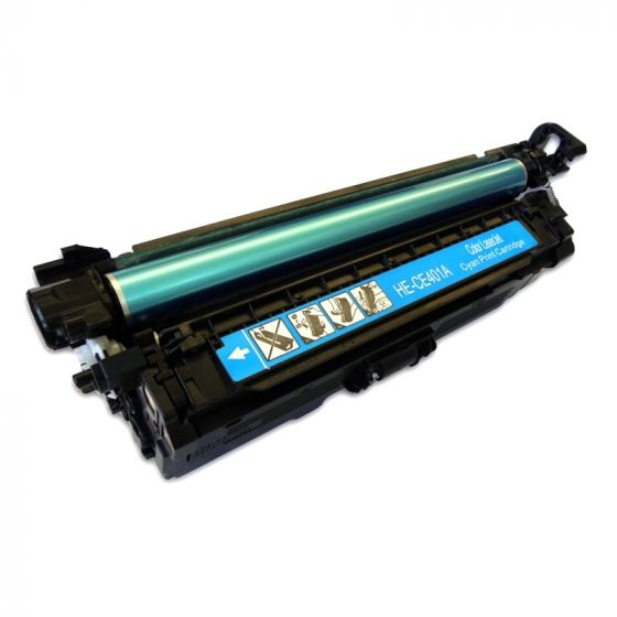 HP LaserJet 507A Original Cyan Toner Cartridge CE401A