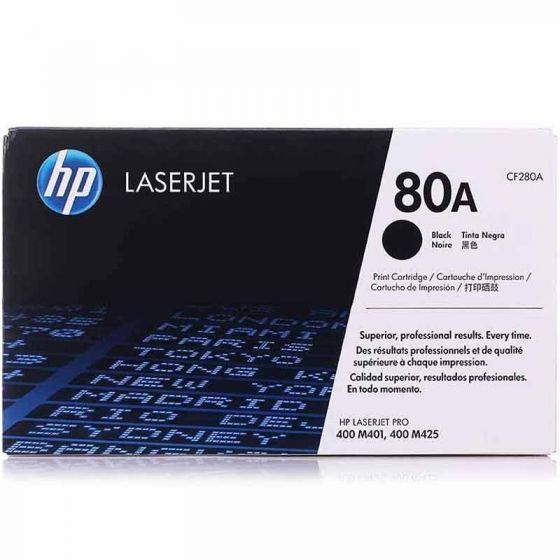 HP LaserJet 80A Original Black Toner Cartridge CF280A