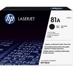 HP LaserJet 81A Original Black Toner Cartridge CF281A