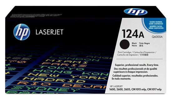 HP LaserJet 124A Original Black Toner Cartridge Q6000A