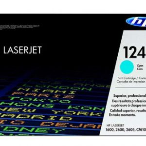 HP LaserJet 124A Original Cyan Toner Cartridge Q6001A