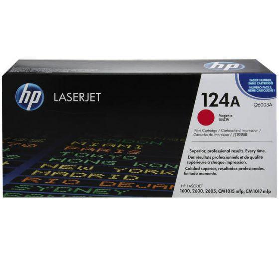HP LaserJet 124A Original Magenta Toner Cartridge Q6003A