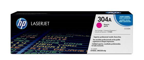 HP LaserJet 304A Original Magenta Toner Cartridge CC533A