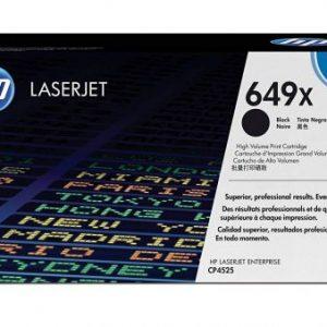 HP LaserJet 649X High Yield Original Black Toner Cartridge CE260X