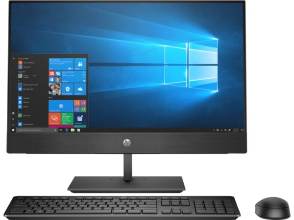 """HP 24-F0579NH ALL-IN-ONE DESKTOP PC (8XP41EA) INTEL CORE I7-9TH GEN (2.0 GHZ) INTEL UHD GRAPHICS 630 2TB HDD 8GB RAM 23.8"""" FHD IPS  *TOUCH SCREEN* DISPLAY DVD-WRITER CAMERA WI-FI BLUETOOTH USB  KEYBOARD AND  MOUSE WINDOWS 10 HOME 64 JET BLACK"""