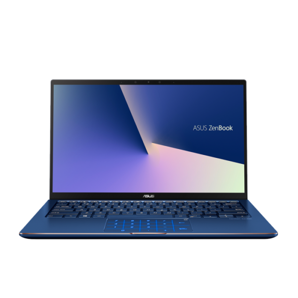 """Asus ZenBook Flip 13 Intel® Core™ i7-8565U Processor 1.8 GHz (8M Cache, up to 4.6 GHz), 13.3"""" FHD, Touch Screen, 8GB DDR3 (on board), 512GB SSD, Intel UHD Graphics 620, HD IR/RGB Combo + FHD WFC Dual Camera (Facial Recognition Login), Windows 10, NumberPad, Sleeve + Stylus, illuminated chicklet UK Keyboard, 1 Year Global warranty Ultra Slim - ConvertibleRoyal Blue"""