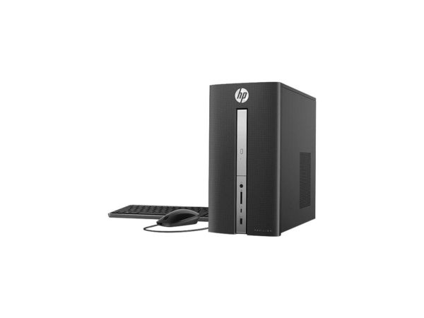 HP Pavilion Desktop PC 570-P054, Intel Core i3, 1TB HDD, 8GB RAM, Mouse, Keyboard, 18.5 Monitor Windows 10