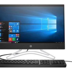 HP 200 G4 AIO DESKTOP PC INTEL PENTIUM SILVER J5040 (2.0GHZ) 1TB HDD, 4GB DDR4 RAM; 21.5'' FHD IPS DISPLAY, DVD-WRITER, CAMERA, USB KEYBOARD AND MOUSE FREEDOS 2.0 IRON GREY (9US90EA)