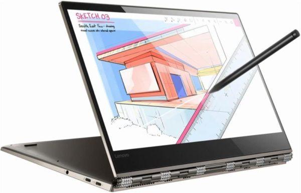 Lenovo yoga 920-13IKB, Intel core i7, 8th gen, 256gb SSD,  8gb Memory,  Webcam,  Bluetooth,  Wlan, Touch screen,  Fingerprint, Active pen, 13.9 inches,  Windows 10