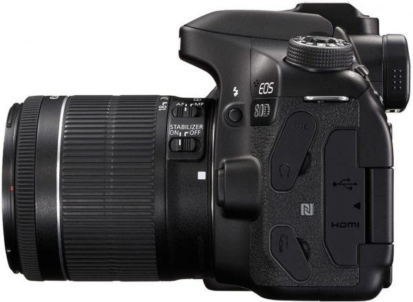 Canon EOS 80D Kit 18-55 STM