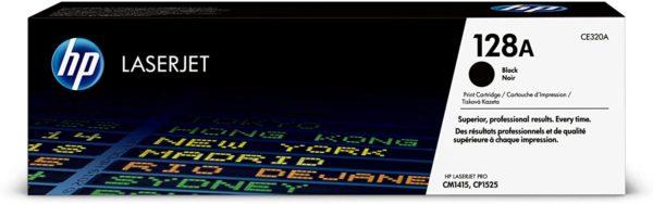HP LaserJet 128A Black Toner Cartridge CE320A