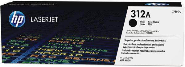HP LaserJet 312A Black Toner Cartridge CF380A
