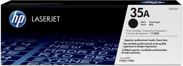 HP 35A Black Original LaserJet Toner Cartridge CB435A