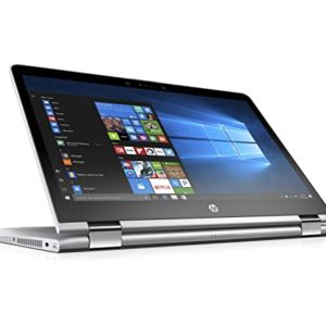 """HP Pavilion X360 14-DH1044NIA (3H457EA): Intel Core-i7-1035G1, 1.1GHz, upto 3.7Ghz, 14.0"""" inch Touchscreen, 8GB RAM, 1TB HDD, convertible, Wi-Fi, Bluetooth 4.0 combo, HP Webcam with integrated digital microphone, Dual speakers, Windows 10 home (NATURAL SLIVER)"""