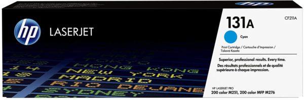 HP LaserJet 131A Cyan Toner Cartridge CF211A