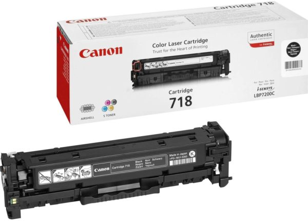Canon Toner 718 Black