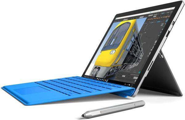 Microsoft surface pro 4, Intel core i5,  256gb SSD.
