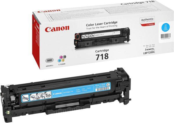Canon Toner 718 Cyan