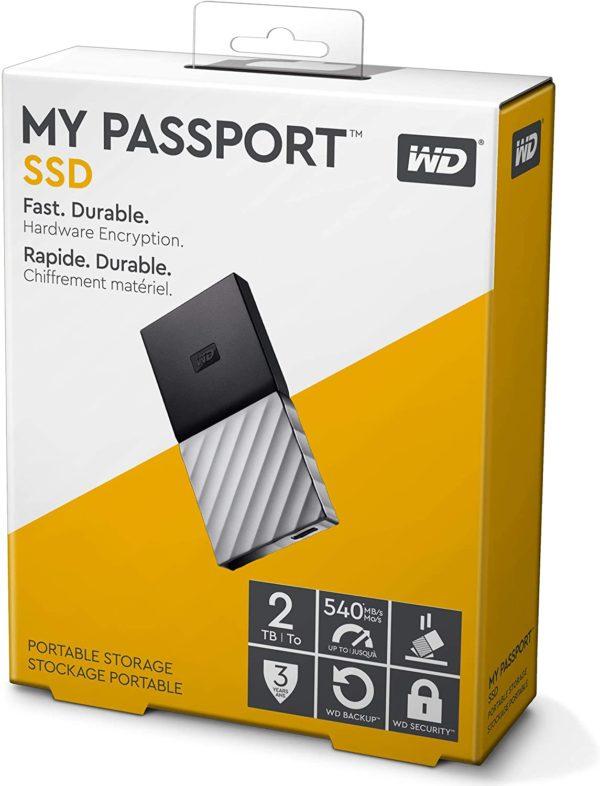 WD EXTERNAL SSD 2TB