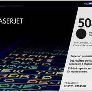 HP LaserJet 504A Original Black Toner Cartridge CE250A