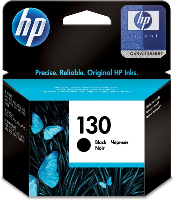 HP 130 Black Ink Cartridge C8767HE