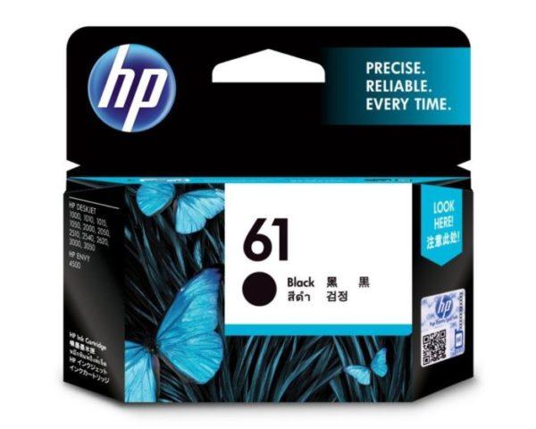 HP 61 Black Original Ink Cartridge CH561WA