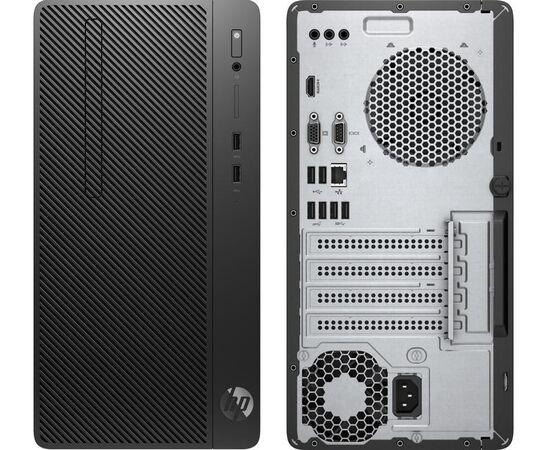 "HP 290 G3 MICROTOWER PC (8VR62EA) INTEL PENTIUM GOLD G5420 (3.8GHZ) INTEL UHD GRAPHICS 610 4GB DDR4-2666 SDRAM 1TB 7200 RPM SATA HARD DRIVE DVD-WRITER USB KEYBOARD & MOUSE FREEDOS 2.0 + V194 18.5"" MONITOR"
