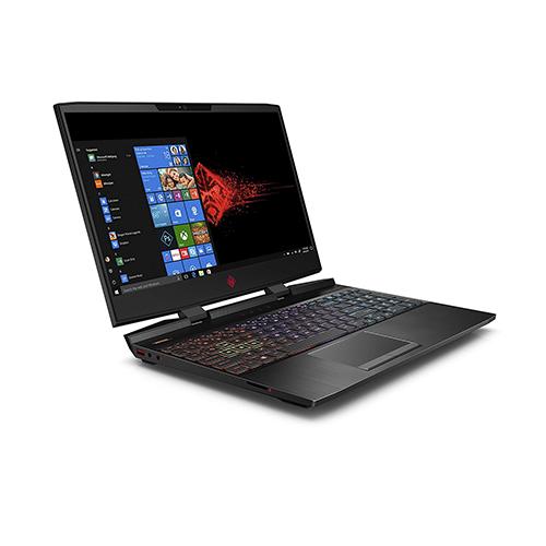 Hp Omen 15-dc0010ca, Intel Core i7 1TB HDD +128GB SSD, 12GB RAM, 4GB Nvidia  Geforce GTX (1050Ti) Windows 10, Wlan, Bluetooth, 15.6 inches