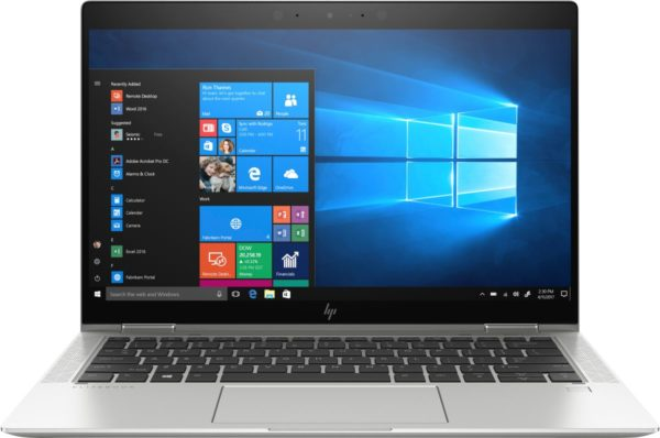 """HP ELITEBOOK X360 1030 G4 CORE I7—8TH GEN 512GB SSD 16GB LPDDR3 RAM 13.3"""" *TOUCH SCREEN AND CORNING GORILLA GLASS WITH HP SURE VIEW INTEGRATED PRIVACY SCREEN (1920 X 1080) DISPLAY* CAMERA; WI-FI; LTE-ADVANCED BLUETOOTH; FINGERPRINT ACTIVE PEN WINDOWS 10 PRO 64 (7KP71EA)"""