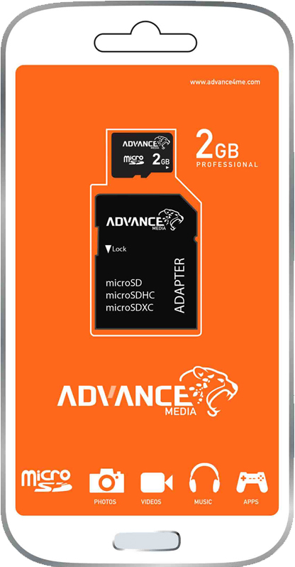 ADVANCE Memory Cards 2GB