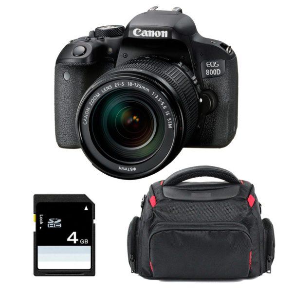 Canon EOS 800D kit 18-135 STM