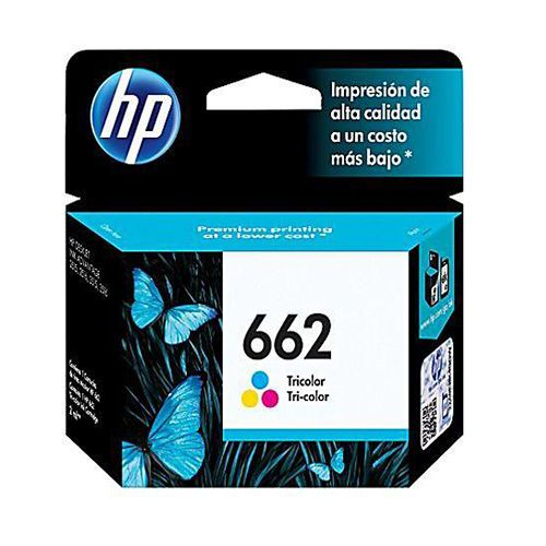 HP Original 662 Tri-Color Ink Cartridge CZ104AC
