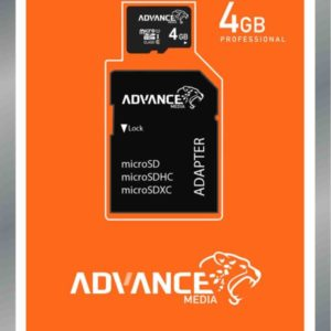 ADVANCE Memory Cards 4GB