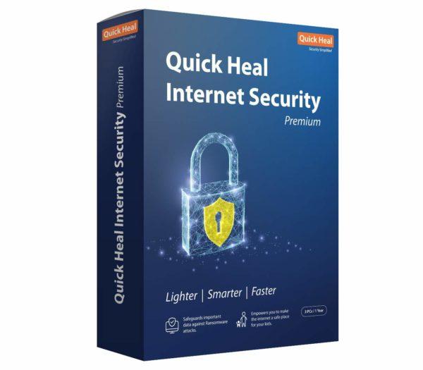 Quick Heal Internet Security – 3 USER