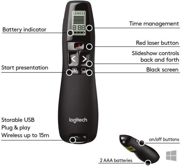 Logitech R800 Wireless Presentation Pointer