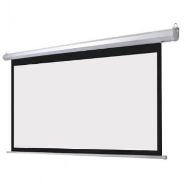 """120"""" X 120"""" Wall Mounted Electric Motorized Projector Screen"""