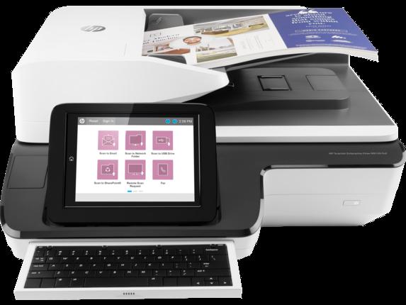 HP SCANJET ENTERPRISE FLOW N9120 FN2 NETWORK SCANNER