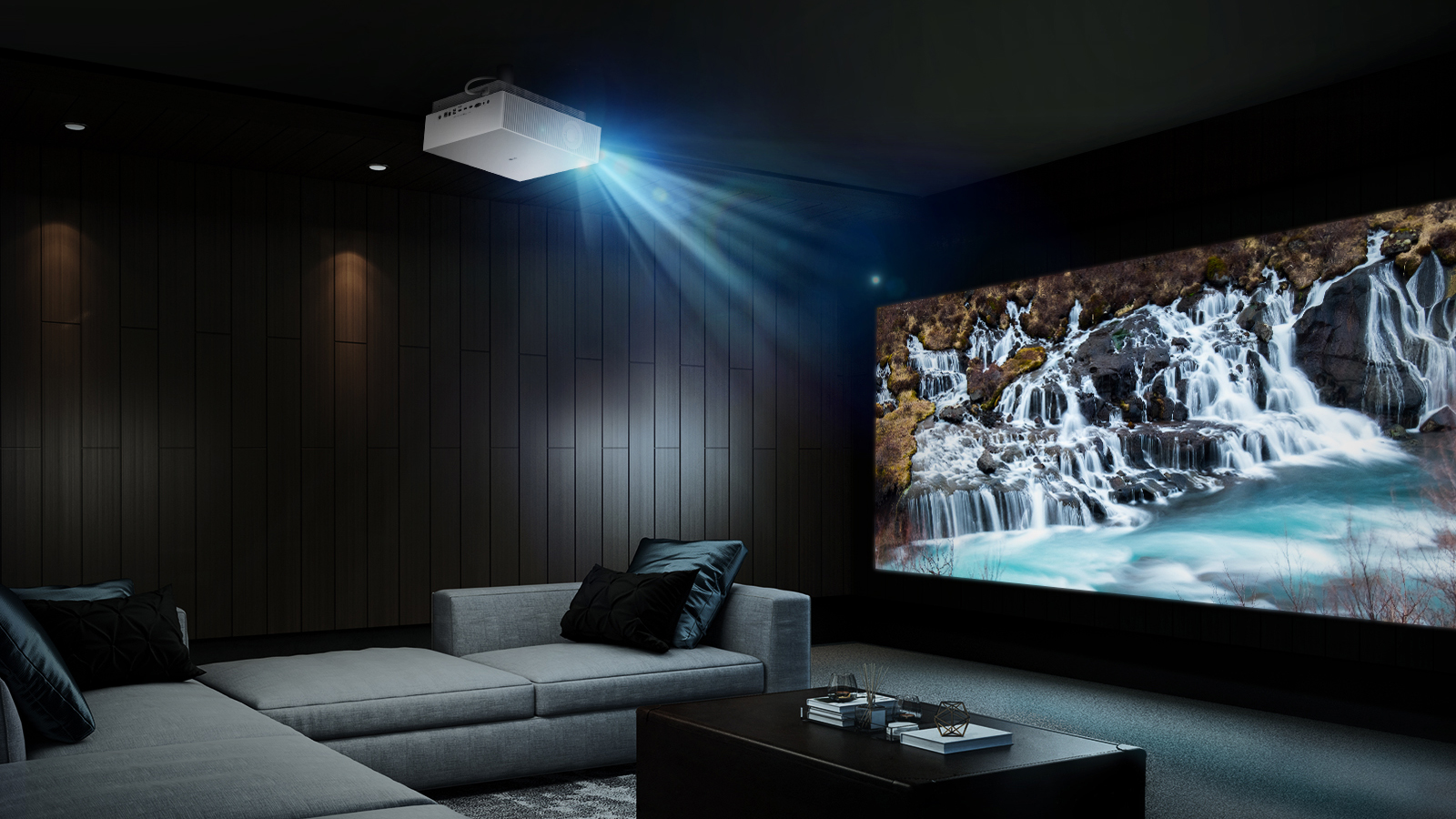 how to create home cinema arenaa